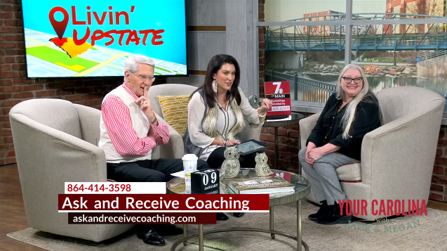 Stacey Bevill of Ask and Receive Coaching on Your Carolina with Jack and Megan